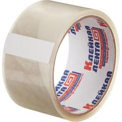 Скотч клейкая лента упаковочная прозрачная 48 мм x 30 м толщина 38 мкм