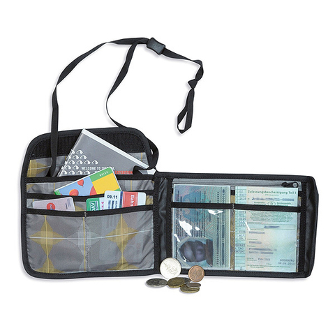 Картинка кошелек нашейный Tatonka Travel Wallet black - 3