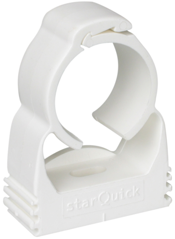 Walraven BIS starQuick хомут для труб 32-35 мм cамозащёлкивающийся белый (0855035)