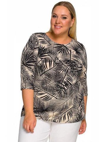 Блуза базовая Тропики