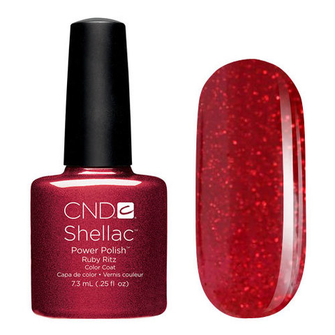UV Гелевое покрытие CND Shellac  Ruby Ritz 7,3 мл