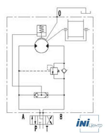 Гидравлическая лебедка IYJ4-50-92-18-ZP (схема 2)