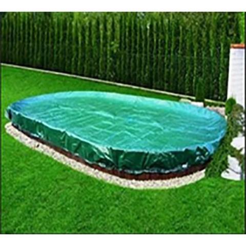 Покрывало брезентовое для бассейна Summer Fun круг 4.20