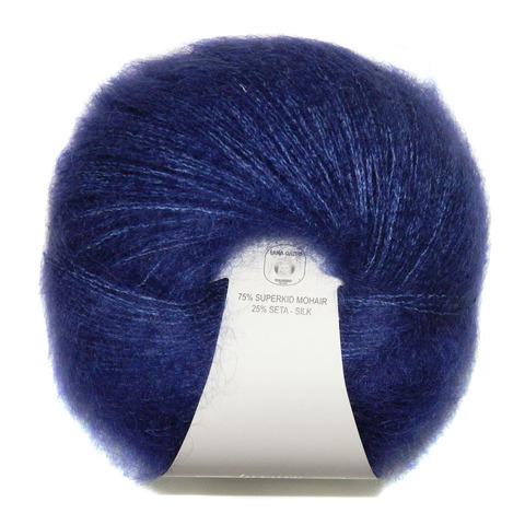 Пряжа Lana Gatto Silk Mohair 8390 синий