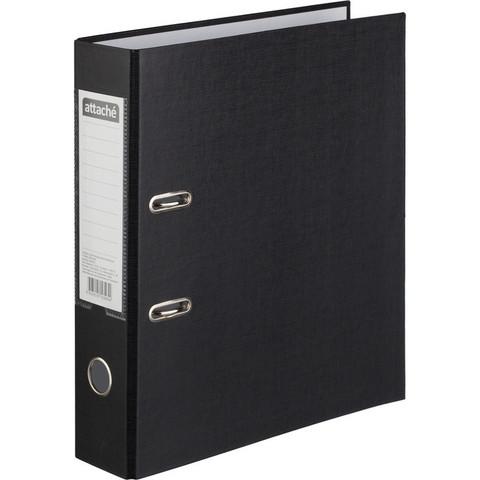 Папка-регистратор Attache 75 мм черная