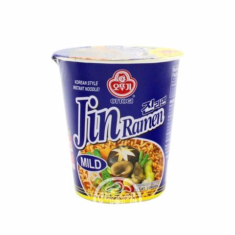 Лапша б/п OTTOGI Jin Ramen со вкусом грибов 65г Корея