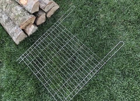 Плоская сетка на мангал 50х40 см