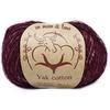 Yak cotton 199010 (вишневый меланж)
