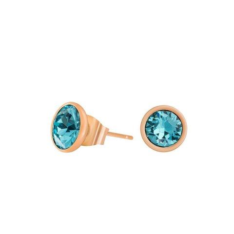 Пусеты Light Turquoise SWE297 LTU RG