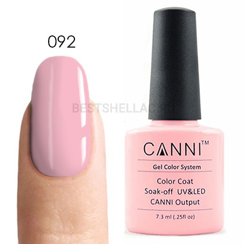 Canni Canni, Гель-лак № 092, 7,3 мл 092.jpg