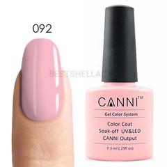 Canni, Гель-лак № 092, 7,3 мл