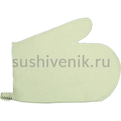 Рукавица для сауны фетровая