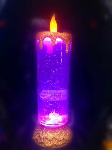 romantic candle свеча лампа