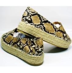 Эспадрильи женские Lily shoes Q38snake.