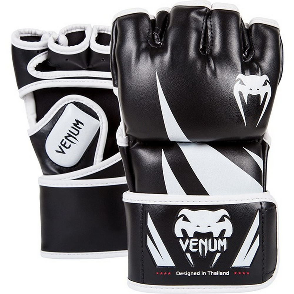 ММА перчатки Перчатки для ММА Venum Challenger MMA Gloves - Black/White 1.jpg