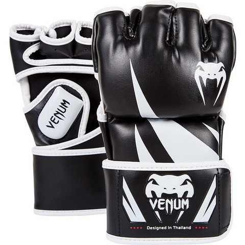 Перчатки для ММА Venum Challenger MMA Gloves - Black/White