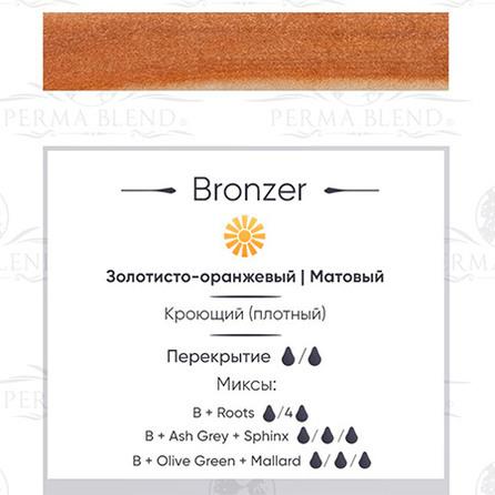"""BRONZE""  пигмент для бровей Permablend"