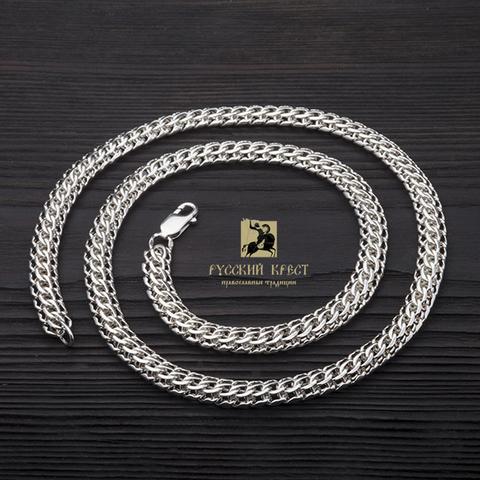 плетение фараон серебро
