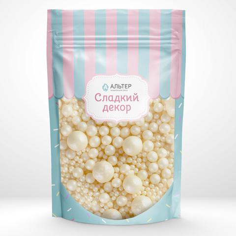Воздушный рис Альтер в шоколадной глазури Серебро 100 гр