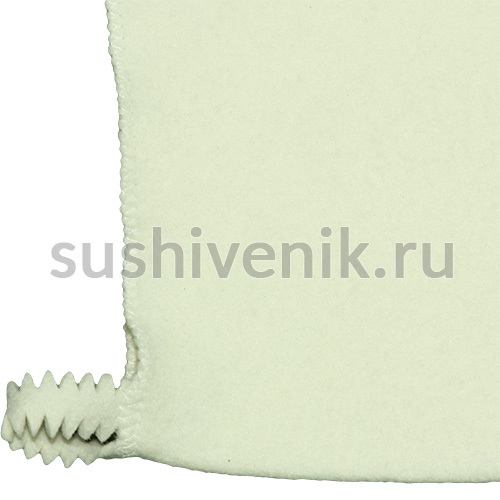 Фетровая рукавица для бани