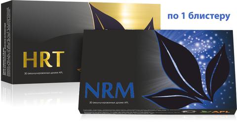 APL. Аккумулированные драже APLGO NRM+HRT для контроля уровня сахар, оздоровления сосудов и сердца по 1 блистеру