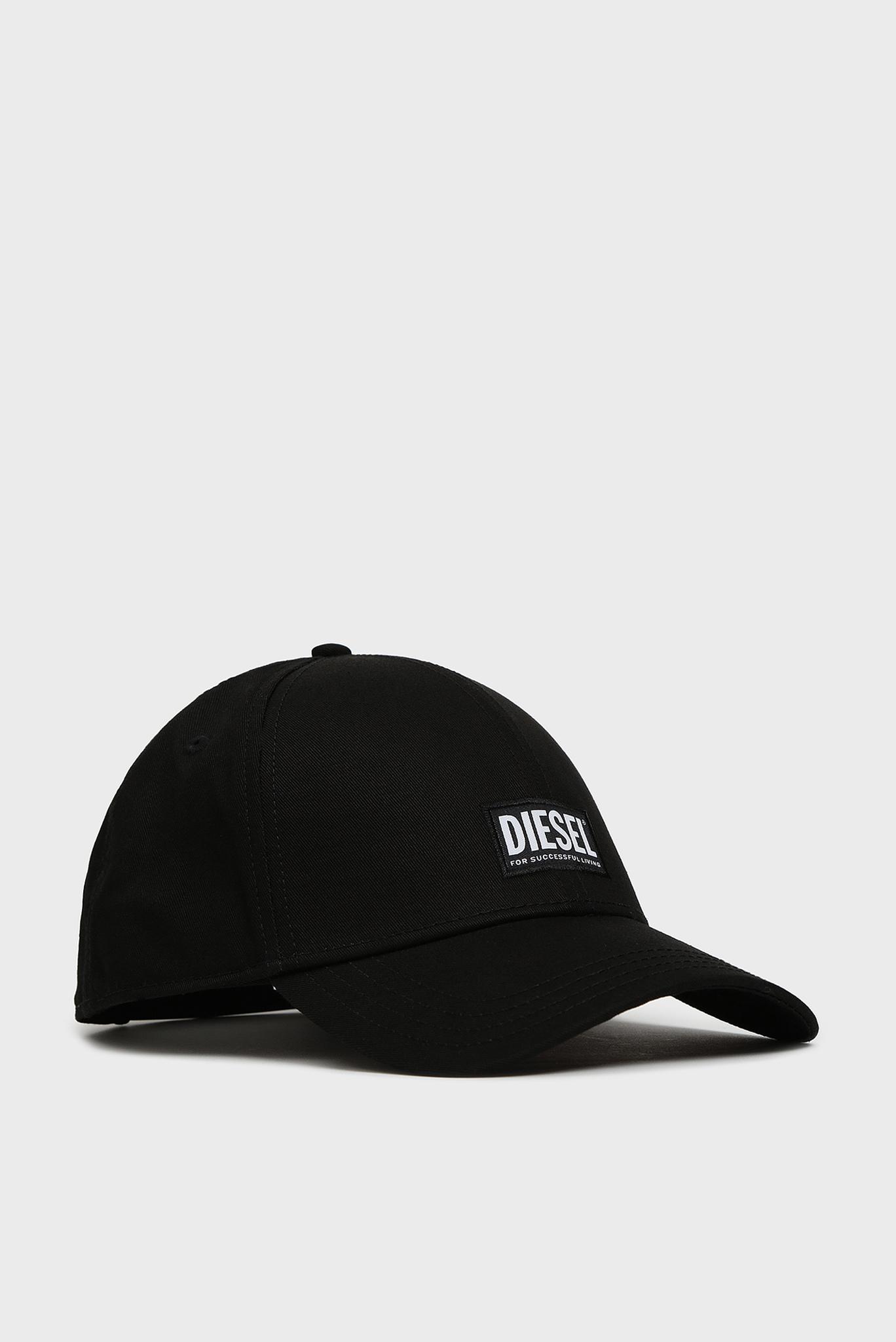 Черная кепка CORRY Diesel