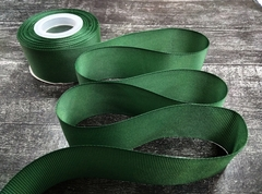 Лента репсовая 4см*25ярд (Зеленый №224)