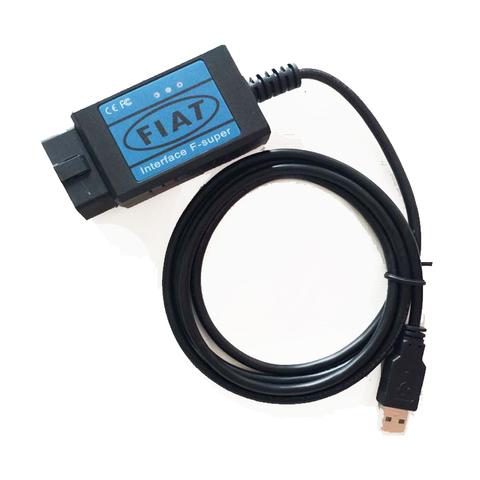 Автосканер Fiat scanner (F-super)