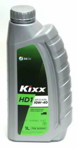 L2061AL1E1 Kixx HD1 CI-4 10W-40 синтетическое моторное масло (1 литр) официальный сайт партнера ht-oil.ru