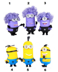 Despicable Me 2 Minions Yellow & Purple Music and Light Effect