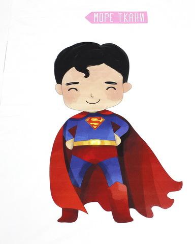 Панель(купон) мальчик-супермен - 75*100 см