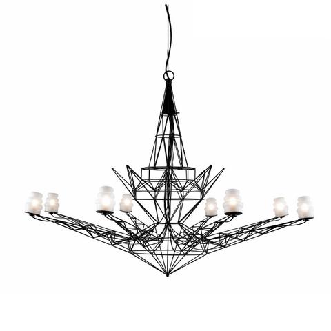 Подвесной светильник копия Lightweight by Foscarini (черный)