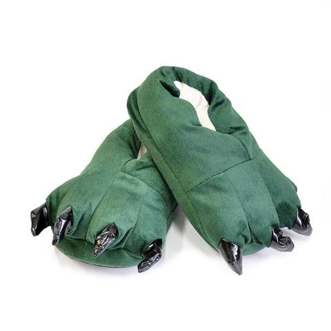 Тапочки царапки зеленые