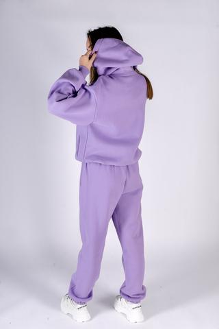 Сиреневый спортивный костюм женский купить