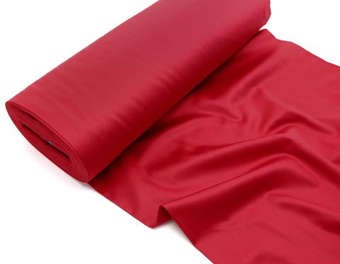 Клубнично-красный (сатин класса люкс,60s),250 см