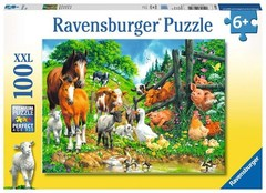 Puzzle Animal Get Together 100 pcs