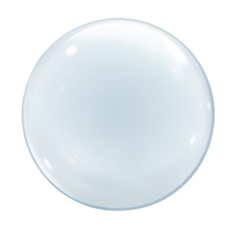 Прозрачный пластиковый шар