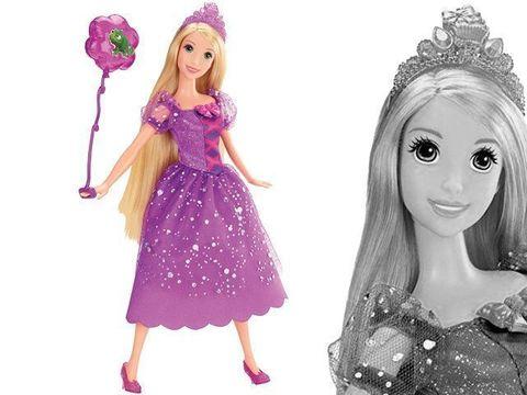 Кукла Принцесса Диснея Рапунцель на вечеринке в Магии кукол