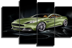 "Модульная картина ""Aston Martin"""