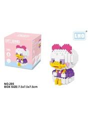 Конструктор Wisehawk & LNO Дейзи Дак 274 деталей NO. 295 Daisy Duck Gift Series