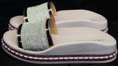 Шлепки сандали женские Kluchini 5259T189 SR.