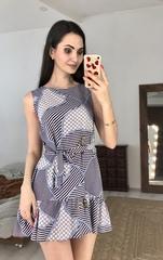 Ума. Красивое молодежное летнее платье