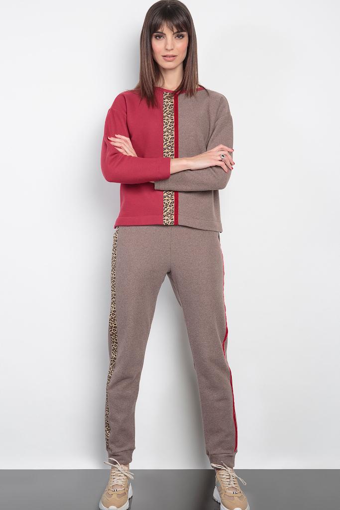 Модный двухцветный костюм Cocoba