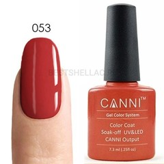 Canni, Гель-лак № 053, 7,3 мл