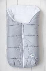 Зимний на выписку для новорождённых КВ1041 серый