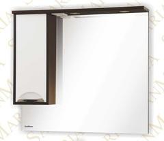 Зеркало-шкаф SanMaria Венеция-90 белый левый