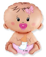 F Малышка, Розовая, 26