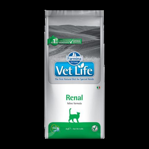 Farmina Vet Life Cat Renal Лечебный сухой корм для кошек с почечной недостаточностью