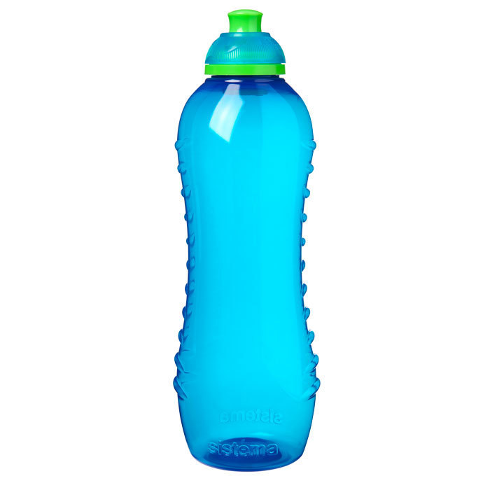 """Бутылка для воды Sistema """"Hydrate"""" 620  мл, цвет Голубой"""