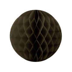 Бумажный Шар-соты 30 см Коричневый